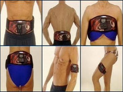 abtronic X2เข็มขัดเสริมสร้างกล้ามเนื้อและกระชับสัดส่วนแบบใส่ถ่าน