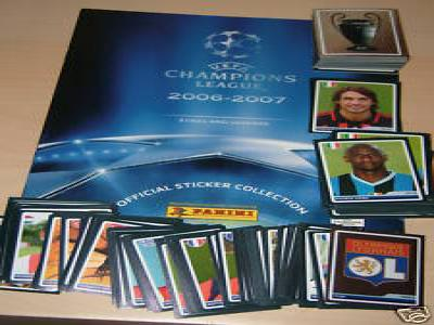 15 STICKERS PANINI CHAMPIONS LEAGUE 2006-2007 PARMI 202