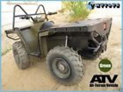 ZY TOYS 1/6 GREEN ATV ALL TERRAIN VEHICLE FOR 1/6 HOT TOYS G I JOE ARMY FIGURE