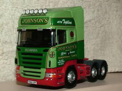 CORGI SCANIA TOPLINE R470 V8 JOHNSONS of BURSCOUGH MINT