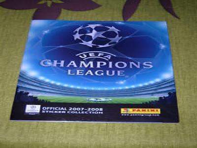 ALBUM VIDE ET NEUF PANINI CHAMPIONS LEAGUE 2007-2008 !!