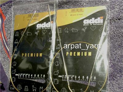 """ADDI Premium Circular Knitting Needle 3.75mm 24""""US# 5"""