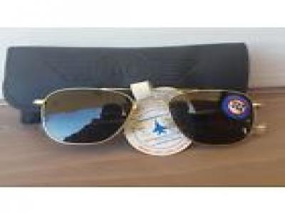 Vintage Aviator USA AO AMERIVAN OPTICAL sunglasses PILO 52[]20 NEW UNUSED