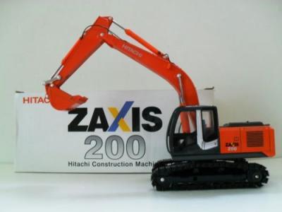 NEW HITACHI 1:40 Excavator ZAXIS 200 Metal Track